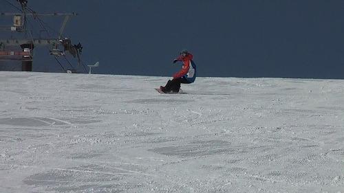 SAJ公認スノーボードバッジテスト