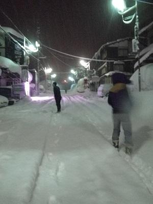 妙高・関&赤倉へとバックカントリーツアー