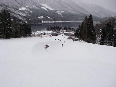 白馬のスキー場