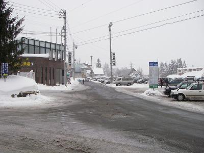 スノーボードゲレンデ