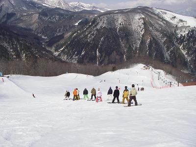ハイカスケード スノーボードパーク in 白馬八方尾根