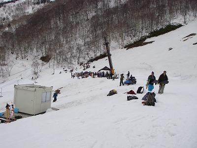 スノーボードNEWモデル試乗会&ボールセッション