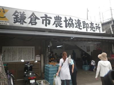 鎌倉の野菜直売所