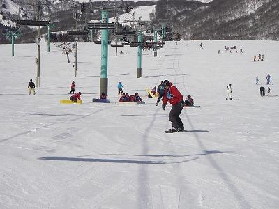 スノーボードパーク