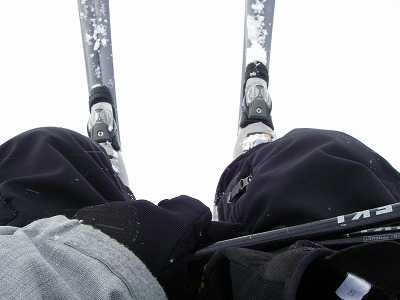 スノーシューとスキー
